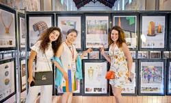 Họa sỹ Nguyễn Thu Thủy mang nhà Gương đến Italy triển lãm và nhận cúp Bạc
