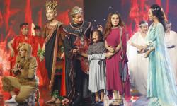 Nhạc sĩ Nguyễn Văn Chung và con gái Suri khiến khán giả tiếc nuối vì tiết mục quá hay, hoành tráng và xúc động