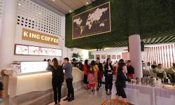 Tưng bừng khai trương quán King Coffee đầu tiên của chuỗi thương hiệu