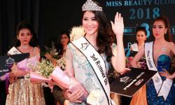 Dương Yến Phi giành danh hiệu Á hậu 2 Miss Beauty Global 2018